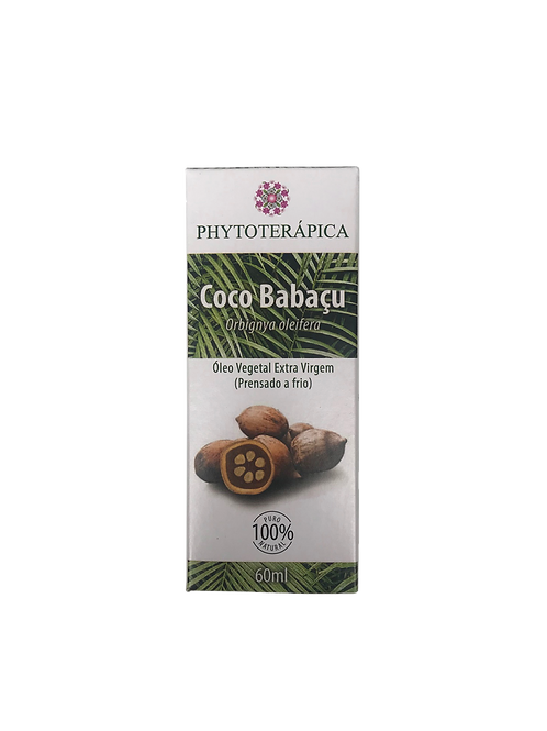 Óleo vegetal de Coco Babaçu  60ml