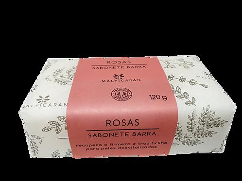 Sabonete Barra - Rosas