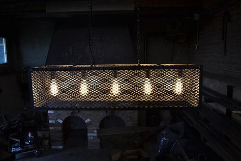 Industriële hanglamp