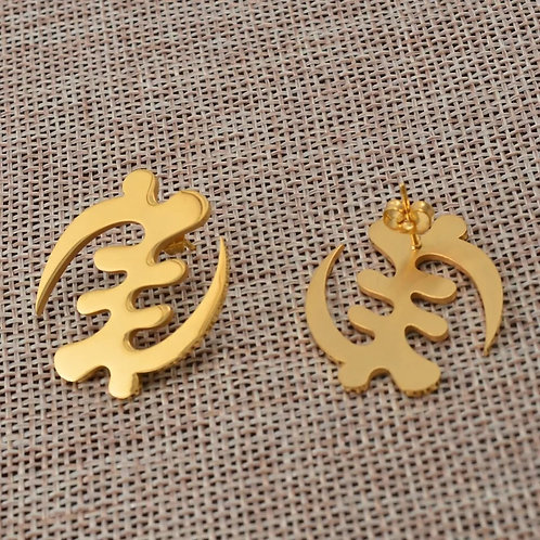 Gold adinkra