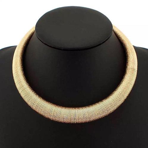 Scraped necklace