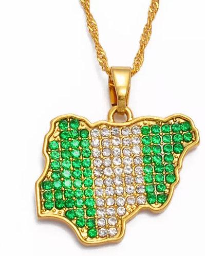 Nigeria beadazzle necklace