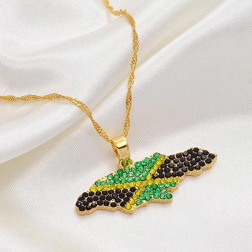 Biddazzled Jamaica necklace