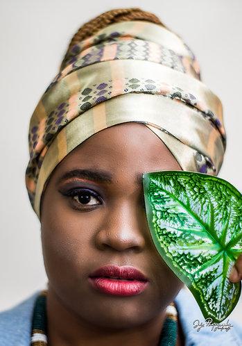 Faye Daledjo Oversized Silk Wrap