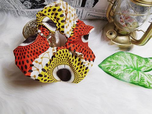 Valero butterfly oversized scrunchy