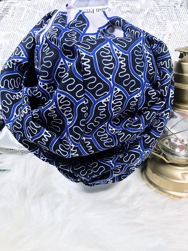 Mokpokpo Oversized Ankara turban