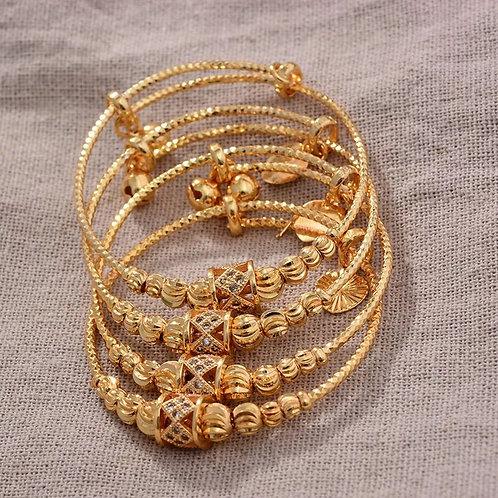 Baby girl gold bangle