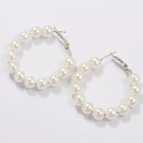Pearl hoop