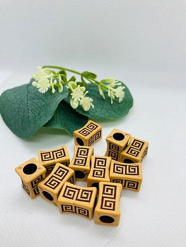 Labyrinth Beads  (30 beads)