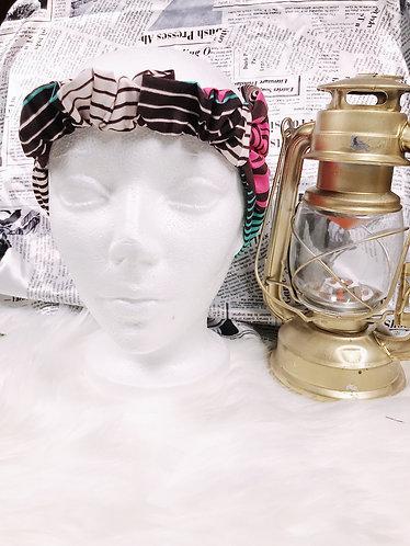 Fafalida Oversized Ankara turban