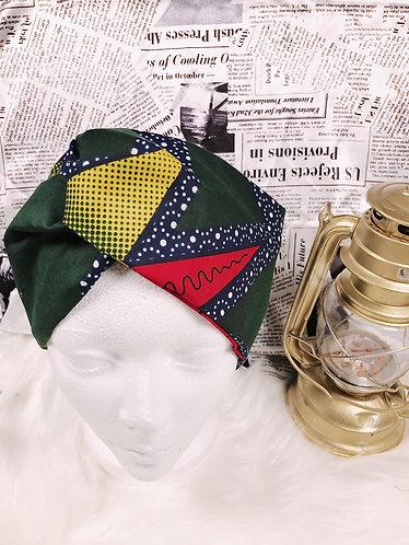 Fadji Oversized Ankara turban
