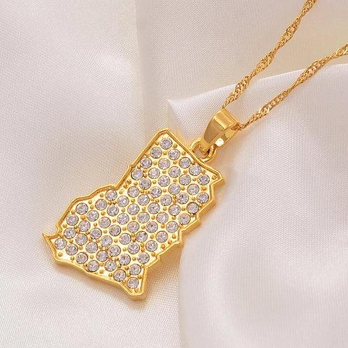 Beadazzkle Ghana necklace