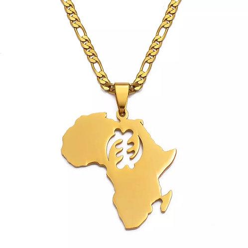 Gye Nyame Africa necklace
