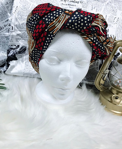 Hafi adult headwrap fabric