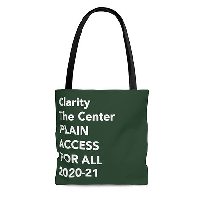 Access for All Tote Bag Forest Green