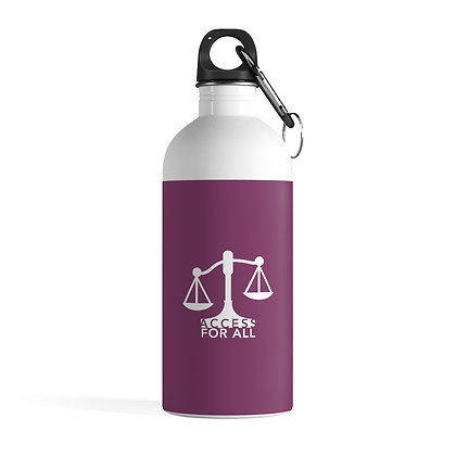 Access for All Stainless Steel Water Bottle 0.41 L Cranberry