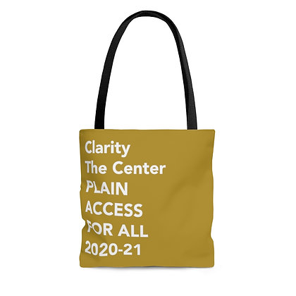 Access for All Tote Bag Gold
