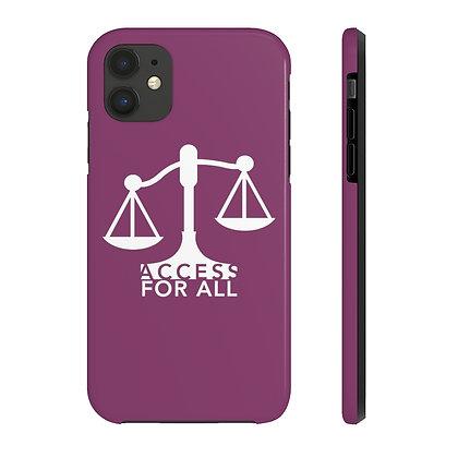 Case Mate Tough Phone Cases Cranberry