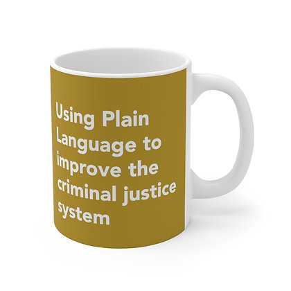 Using Plain Language to improve the criminal justice system Mug