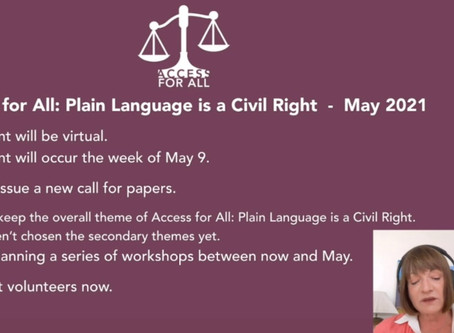 What we know about the Access for All May event