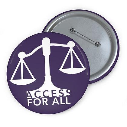 "Access for All 3"" Button Purple"