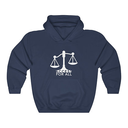 Access for All Unisex Heavy Blend™ Hooded Sweatshirt Pullover