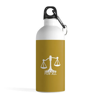 Access for All Stainless Steel Water Bottle 0.41 L Gold