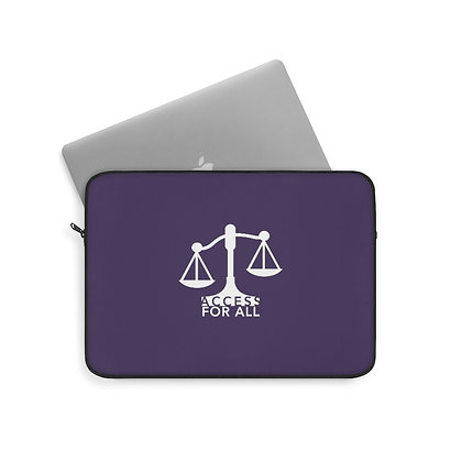 """Access for All 13""""/33 cm Purple Laptop Sleeve"""