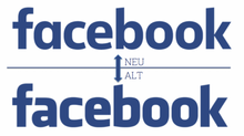 Facebook launcht neues Logo