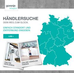 Gorenje_Händlersuche
