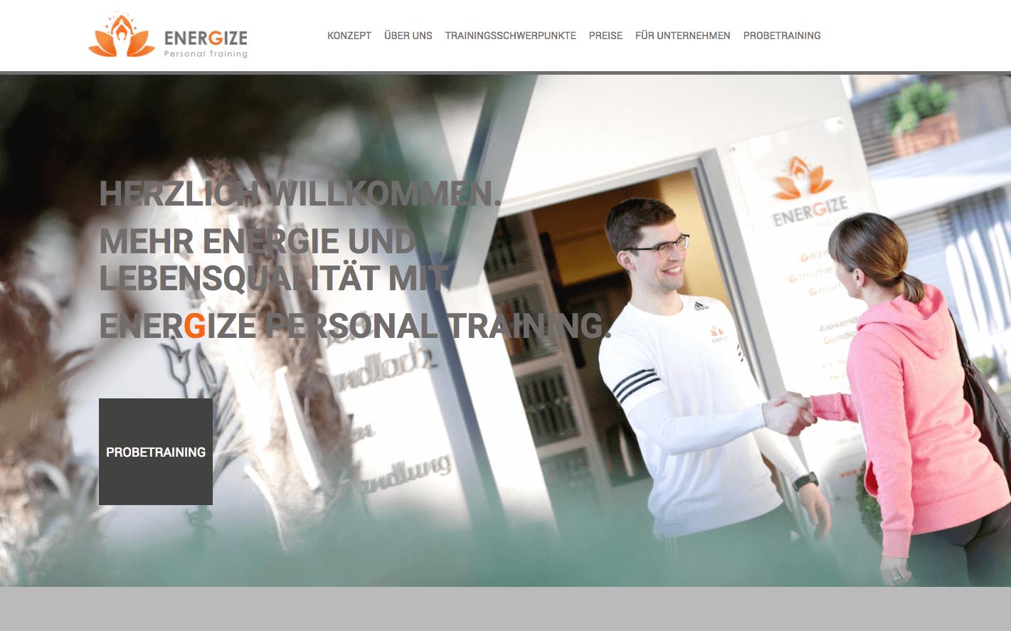 Webdesign Energize