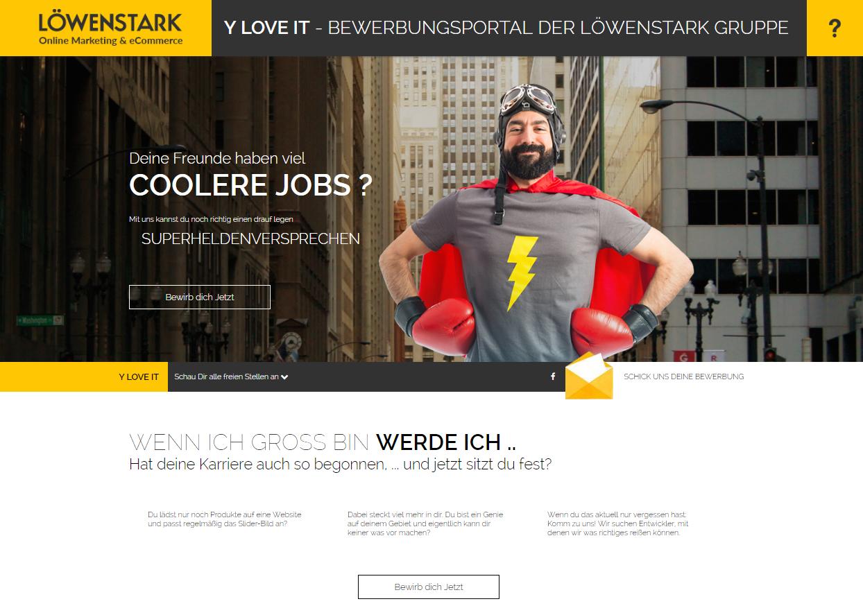 Webdesign y-love-it
