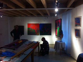 EXPOSITION  AM' CARTA - VERNISSAGE