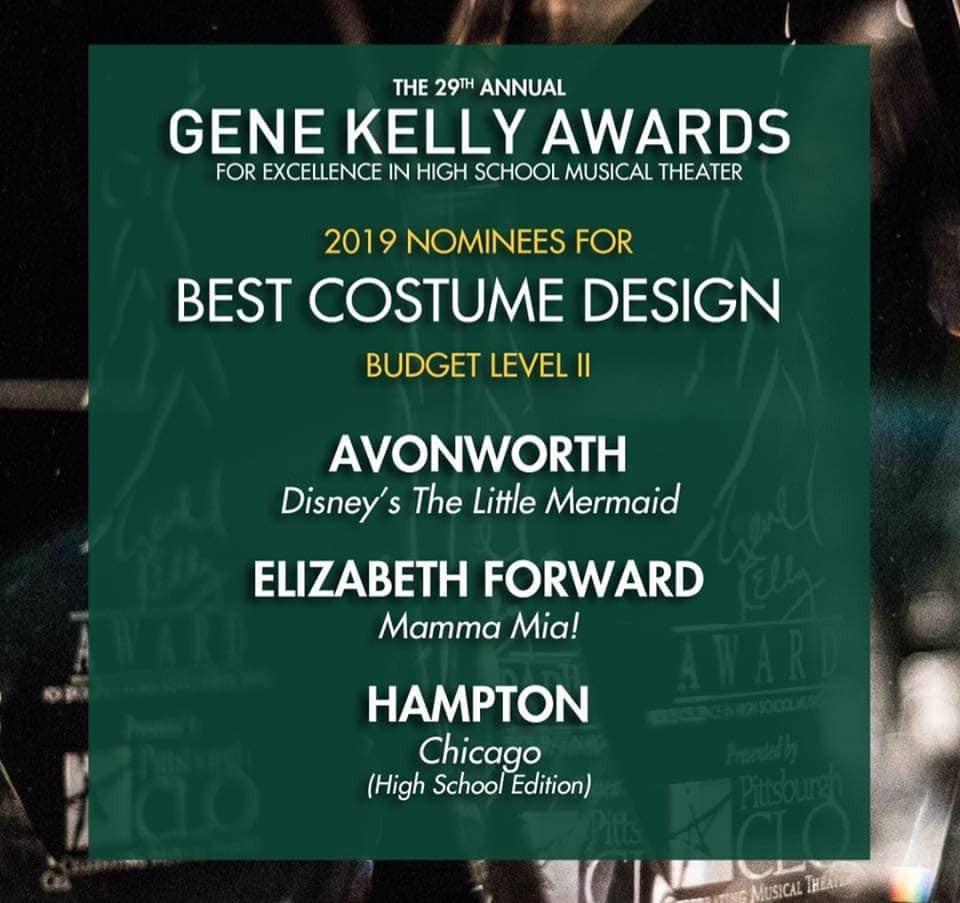 gene kelly awards nomination
