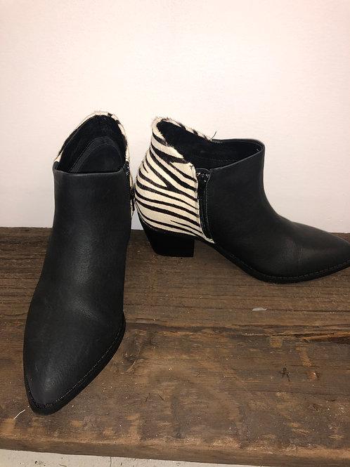 Danika Zebra Booties