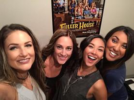 Backstage during shoot for Fuller House