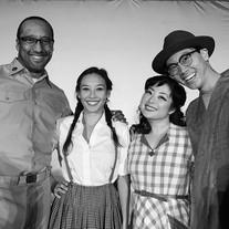 Cast of LA Opera's White Bird of Poston