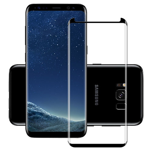 Full Glue Tempered Glass Screen Protector For Samsung
