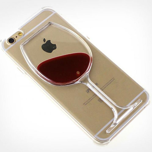 Red Wine/Rubber Duck Dynamic iPhone Cases