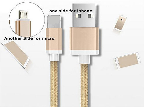 2 in 1 charging cable