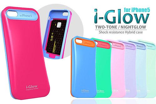 iGlow Shock Resistance Night-glow Hybrid Case