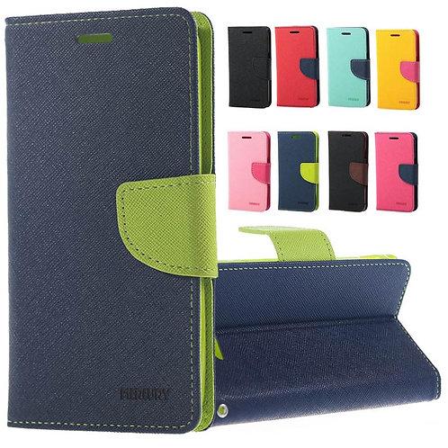 Mercury Fancy Diary Flip Wallet Case