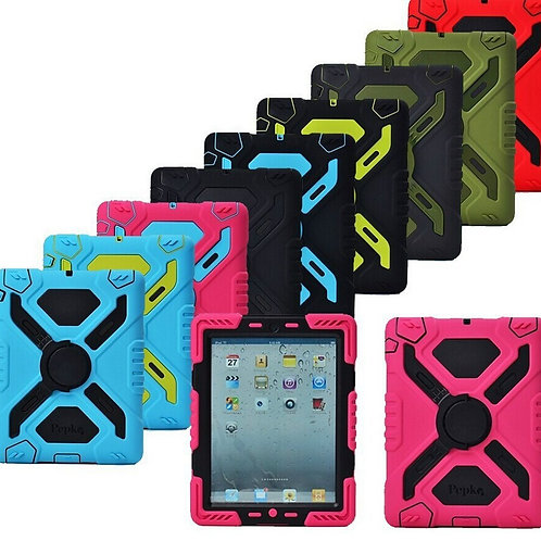 Pepkoo Shock Proof/360 Rotation Stand Case