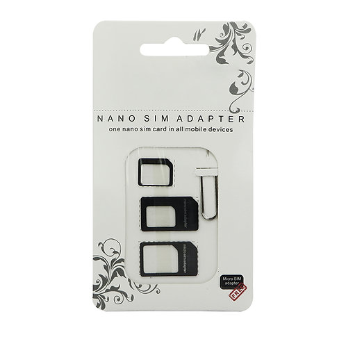 Noosy Nano SIM Card Adapter Pack