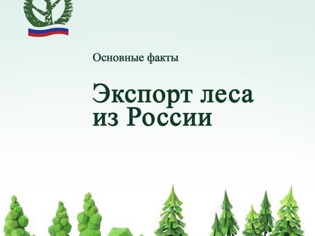 Экспорт леса из России