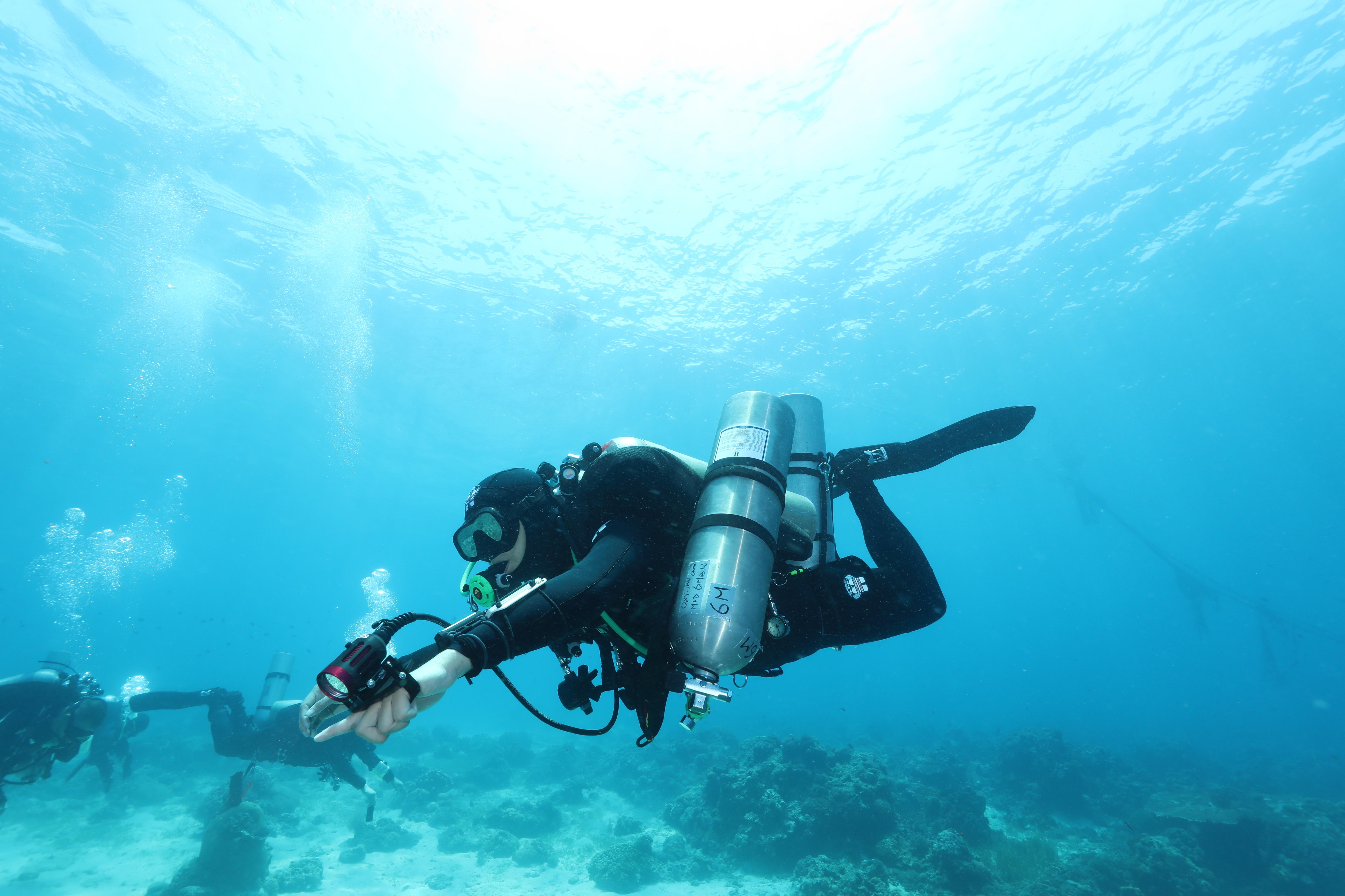 TDI Tech Trim Diver - 技潛姿態(及教練課程)