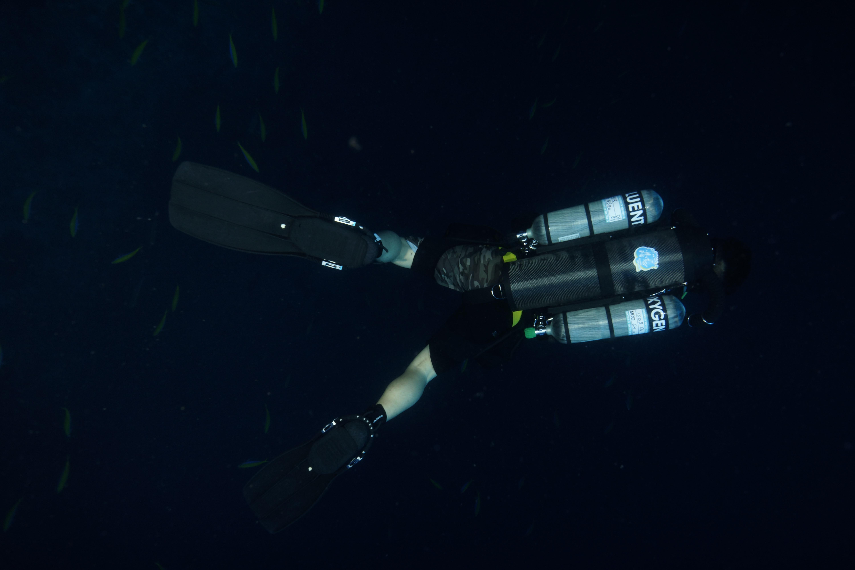 TDI CCR AIR DILUENT D.P. Diver