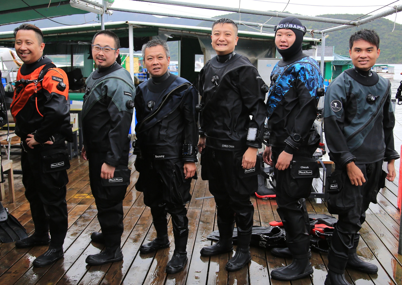 SDI Drysuit Diver - 乾衣潛水員(及教練課程)