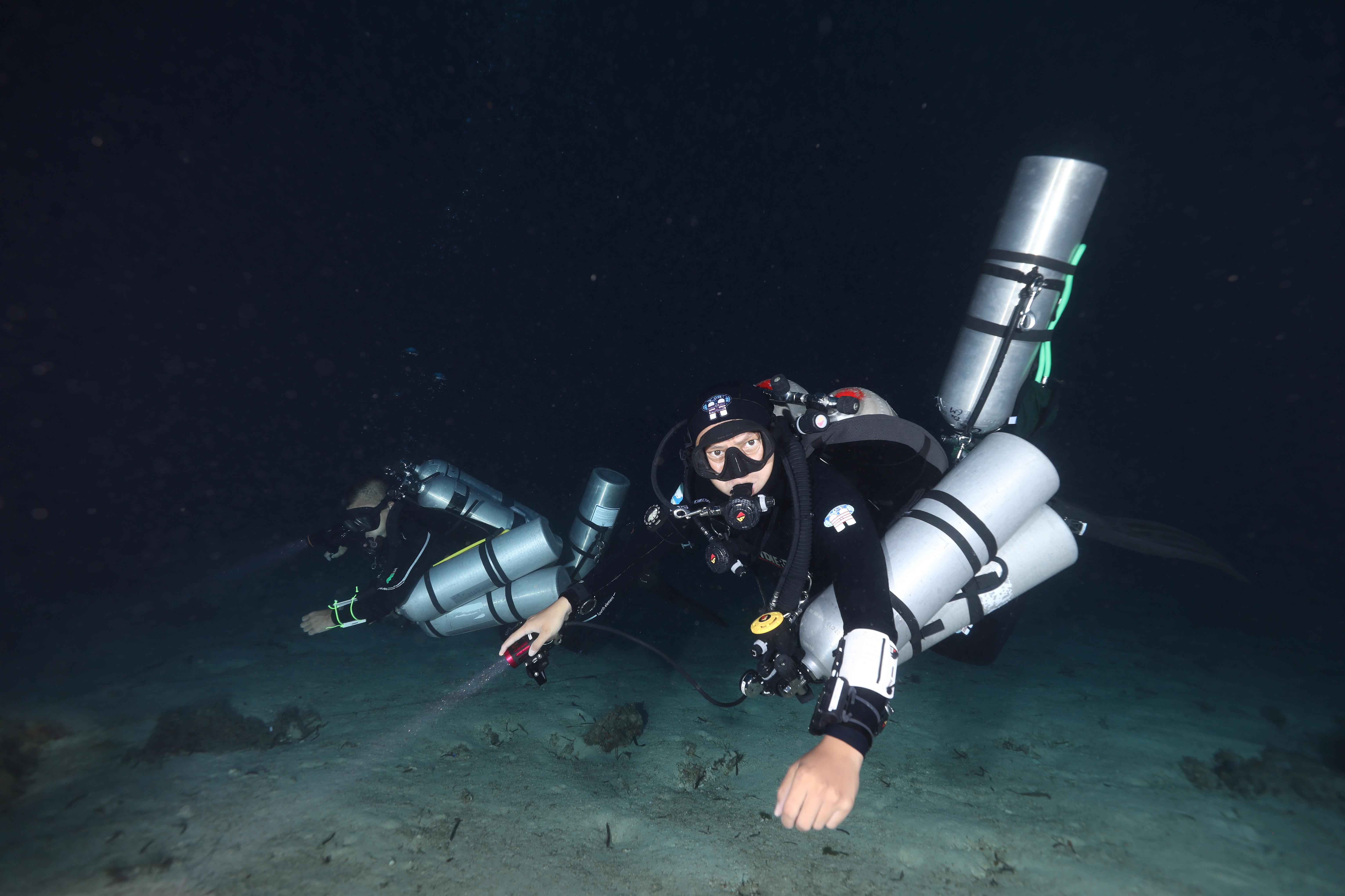 TDI Trimix Diver - 氦氮氧潛水員