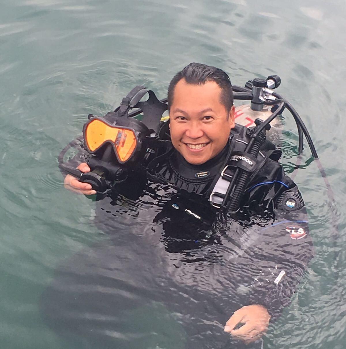SDI Full Face Mask Diver - 全面罩潛水員(及教練課程)